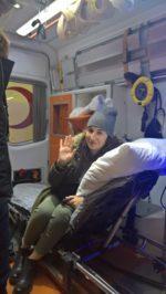 Перевозка больных рейсовым самолетом Одесса-Стамбул.